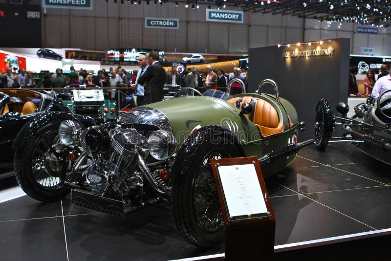 Cabrio 3wheels de Morgan imagen de archivo libre de regalías