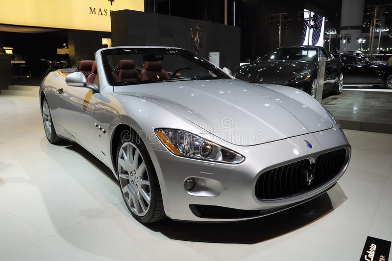Download Cabrio Gran Maserati Zdjęcie Stock Editorial - Obraz: 17741183