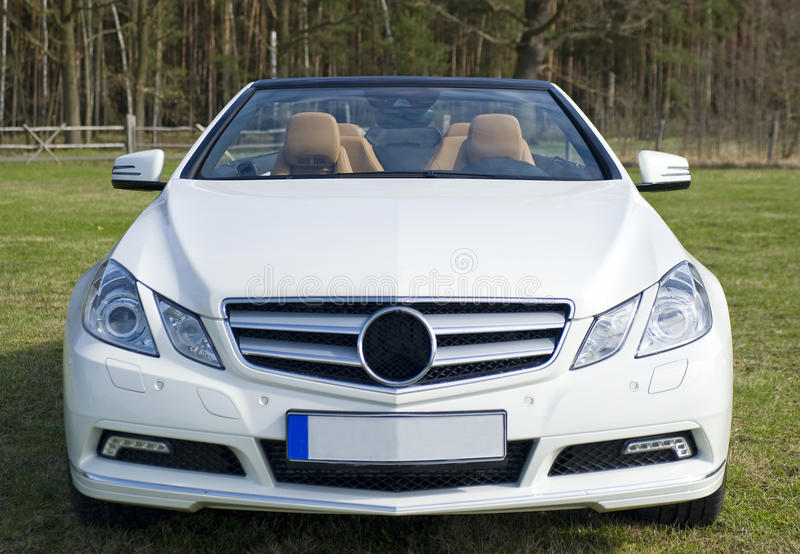 Cabriolé del Benz de Mercedes fotografía de archivo