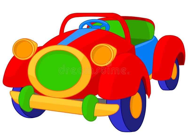 Cabriolet игрушки иллюстрация вектора