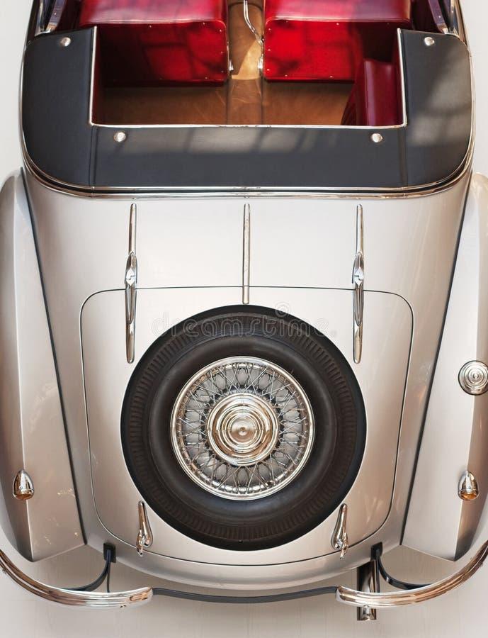Cabriolet Achterdeel Royalty-vrije Stock Fotografie