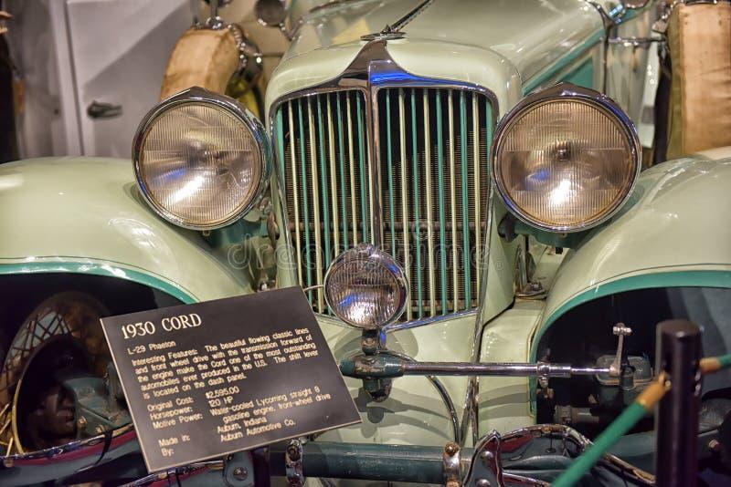 Cabriolet för 1930 kabel royaltyfri foto