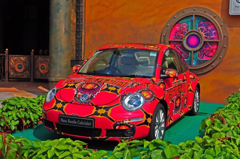 Cabriolet novo do besouro de Volkswagen imagem de stock royalty free