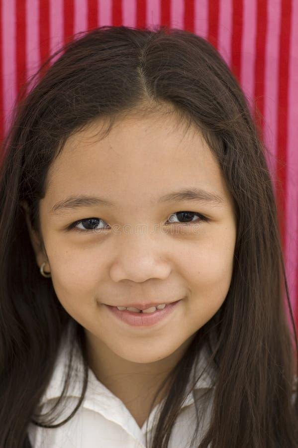 Cabrito asiático sonriente fotos de archivo libres de regalías