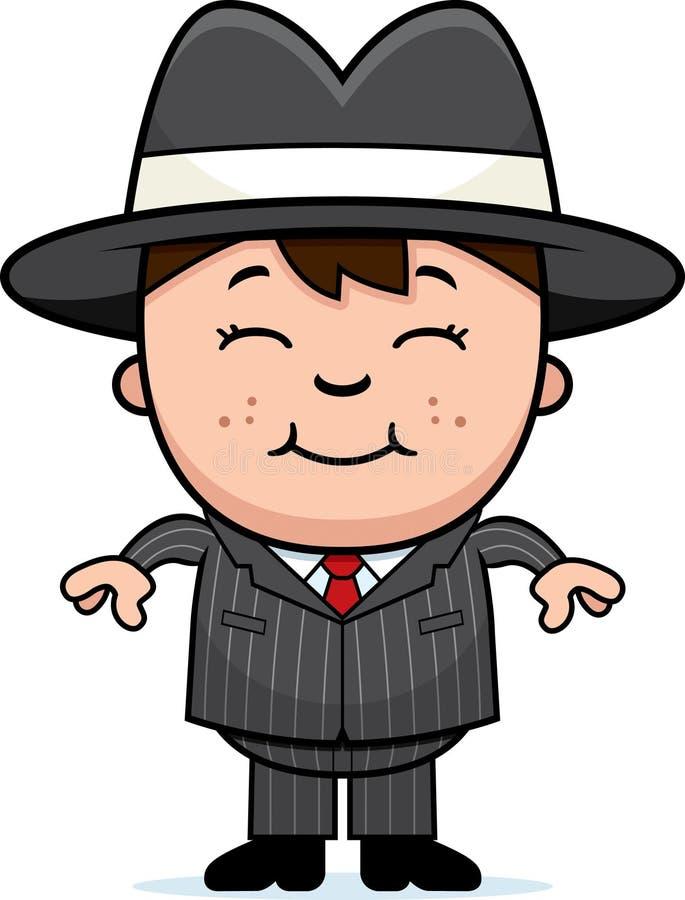 Cabrito de la mafia ilustración del vector