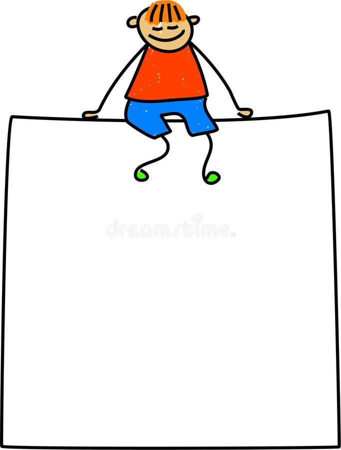 Cabrito de la muestra stock de ilustración
