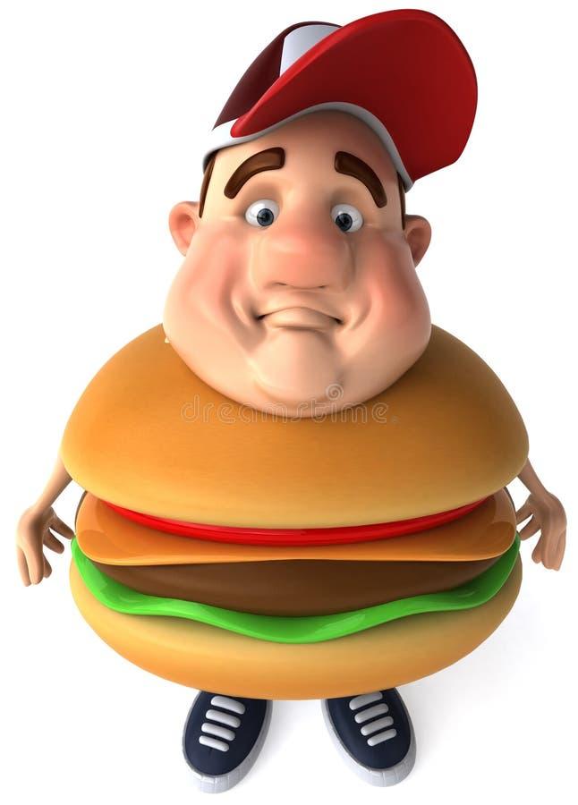 Cabrito gordo stock de ilustración