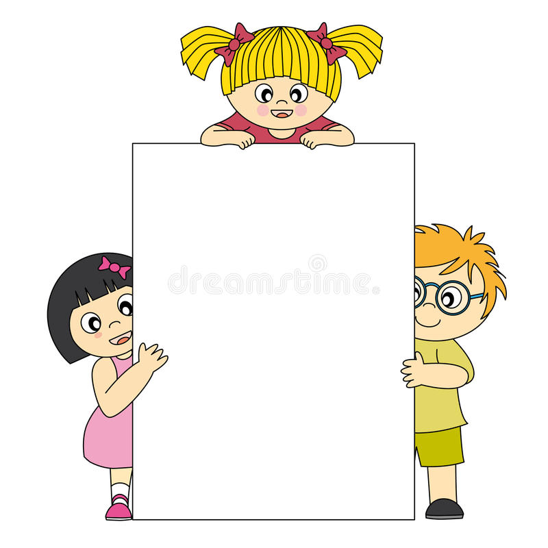 Cabritos stock de ilustración