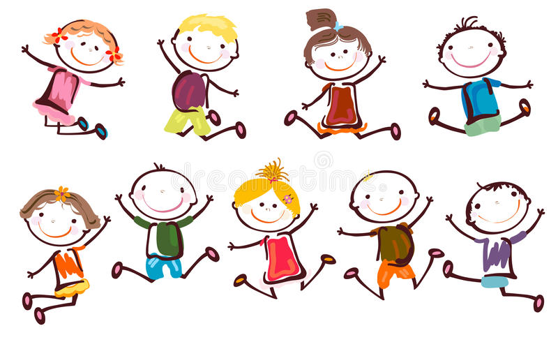 Cabritos felices libre illustration