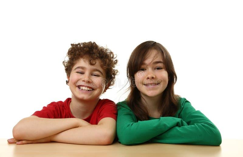 Cabritos felices foto de archivo