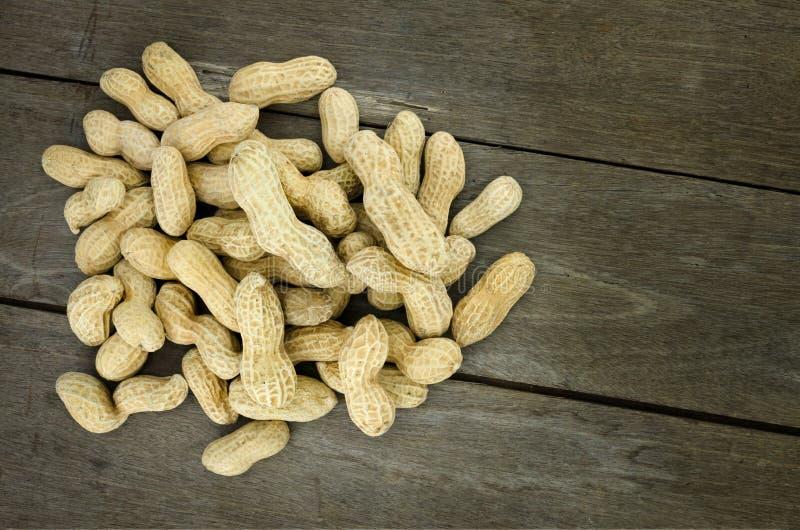 Cacahuete o cacahuete, alergia alimentaria conceptual y salud foto de archivo