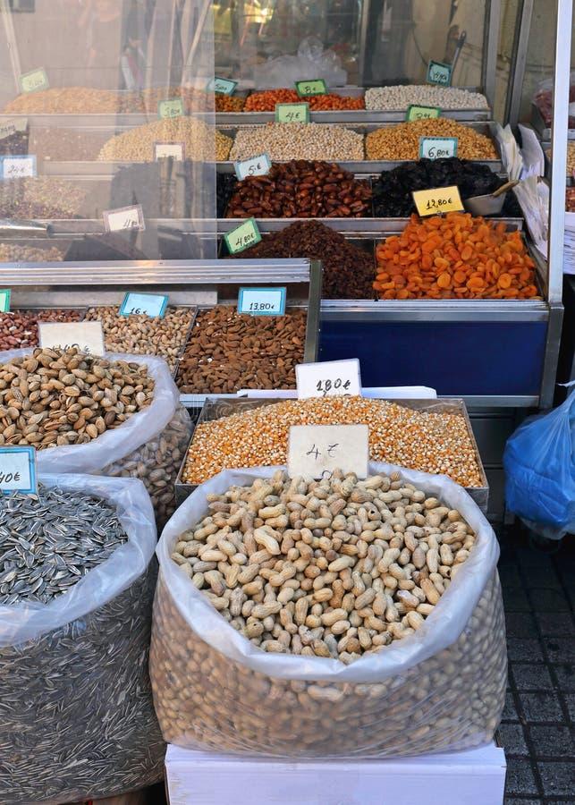 Cacahuetes en shell foto de archivo libre de regalías