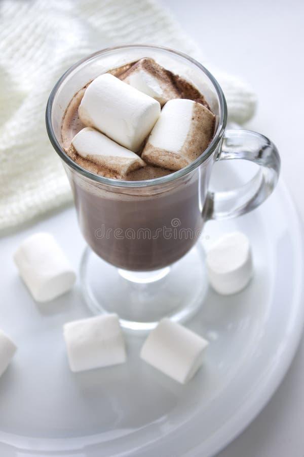 Cacao con la melcocha imagen de archivo