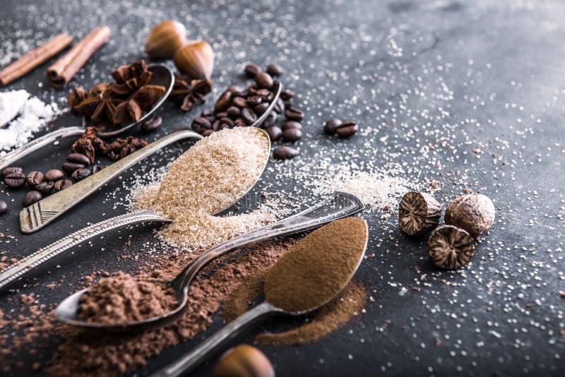 Cacao del polvo del chocolate imagen de archivo libre de regalías