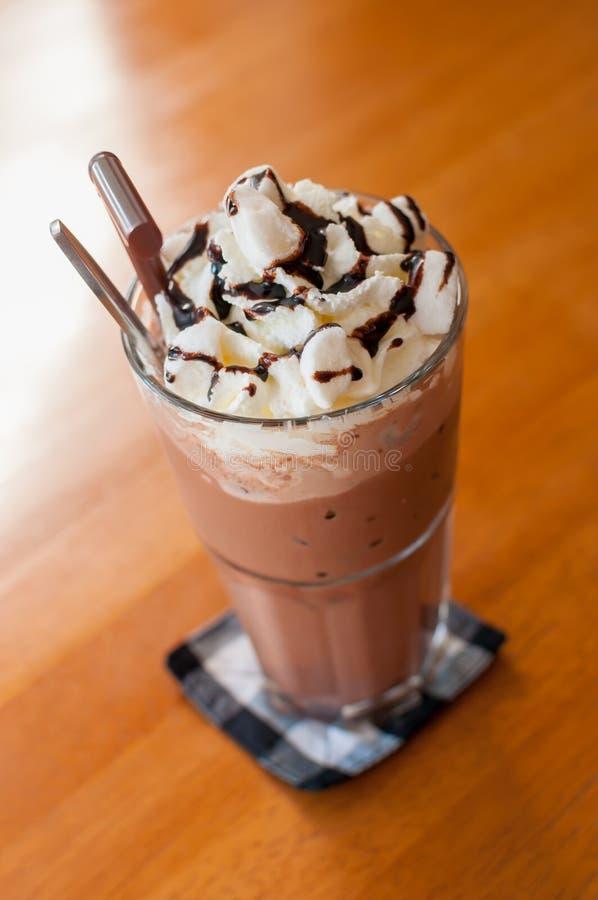 Cacao glacé image libre de droits
