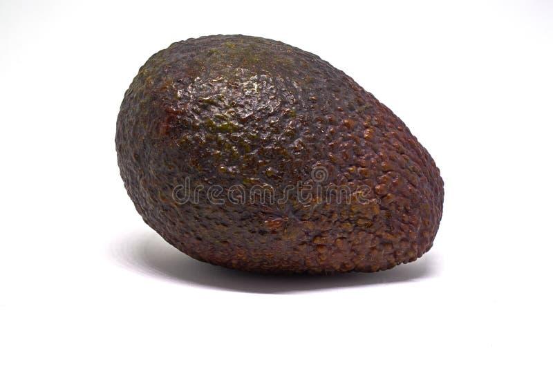 Cacaobonen op een geïsoleerde plaat royalty-vrije stock foto