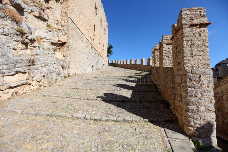 Caccamo Sicily royaltyfri foto