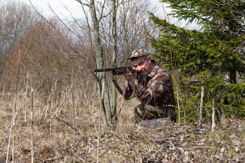 caccia fotografia stock libera da diritti