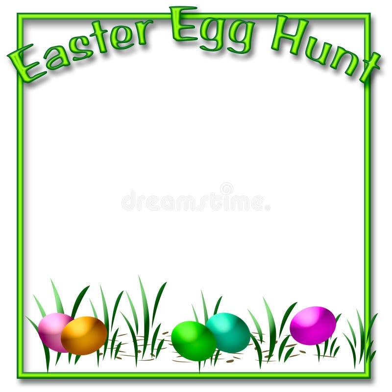 Caccia dell'uovo di Pasqua illustrazione vettoriale