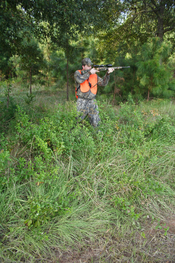 Cacciatore - caccia - sportivo fotografia stock libera da diritti
