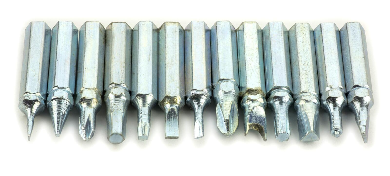 Cacciavite e strumenti immagine stock