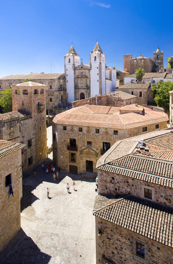 Download Caceres stock image. Image of estremadura, europe, caceres - 12430725