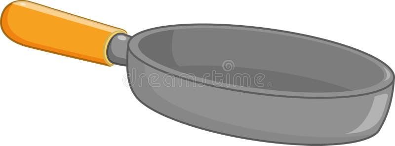 Cacerola ilustración del vector