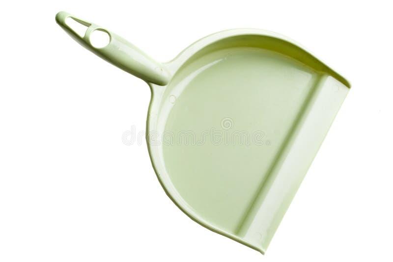 Cacerola verde del polvo imagen de archivo