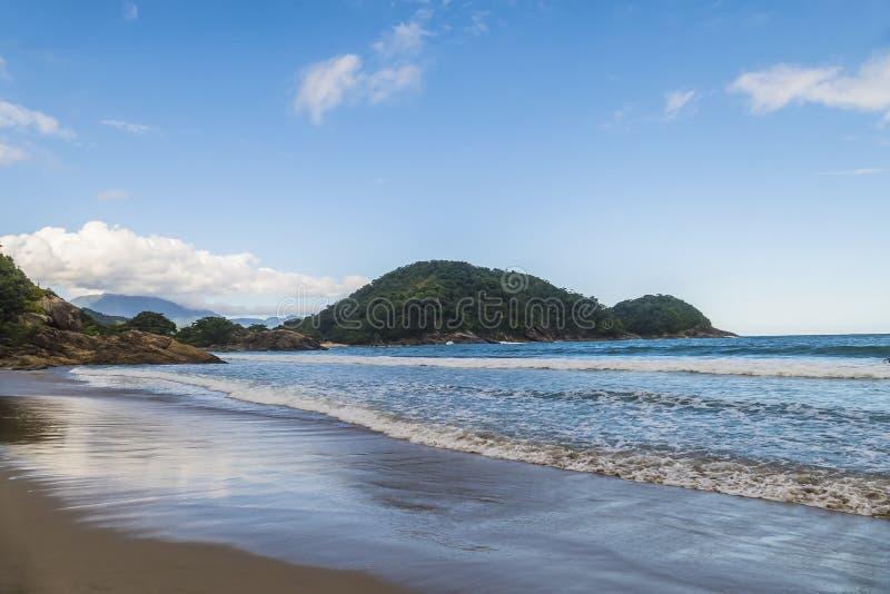 Cachadaco plaża w Brazylia obrazy stock