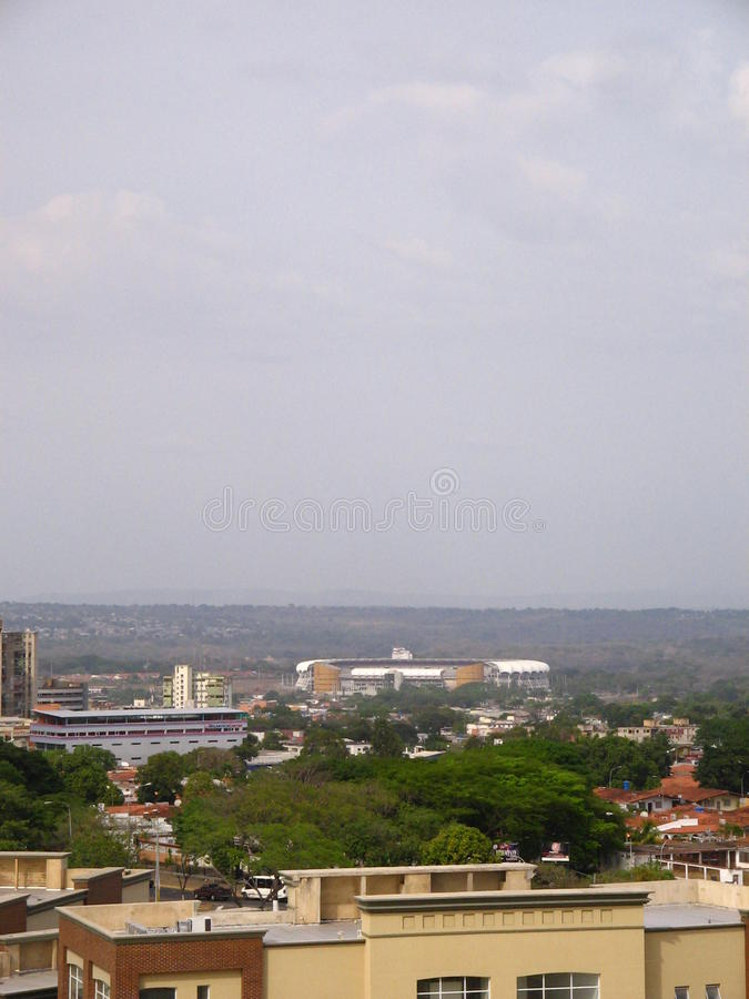 Cachamay stadium piłkarski, Puerto Ordaz, Venezuela obrazy royalty free