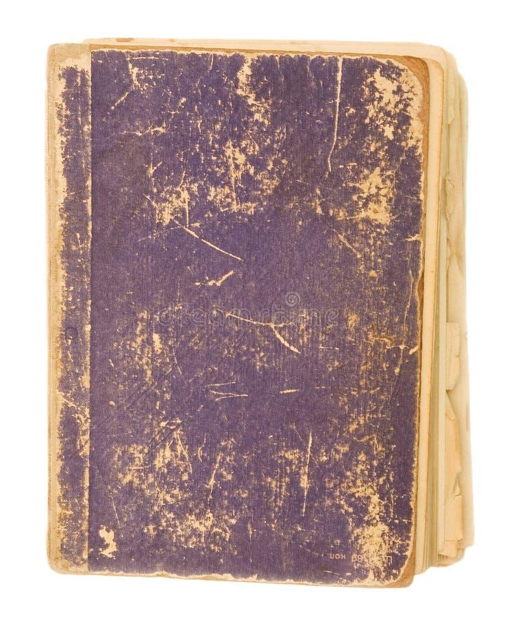 Cache blanc de vieux livre photographie stock libre de droits