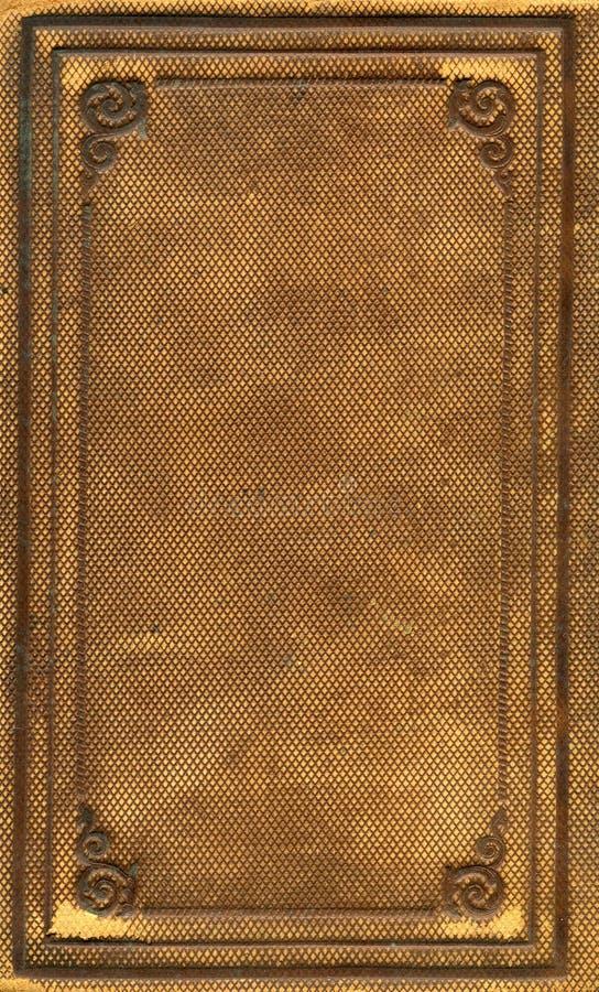 Cache de livre antique image libre de droits