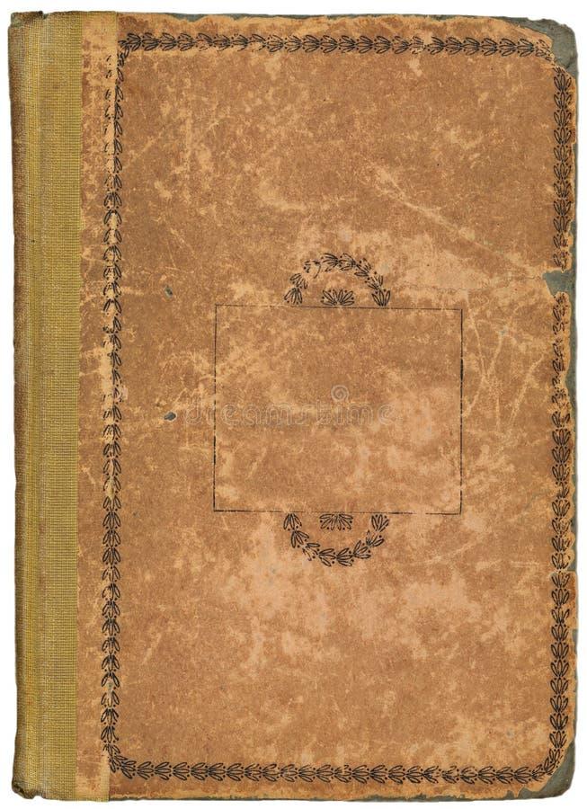 Cache de livre antique photographie stock