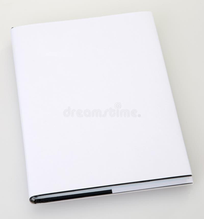Cache de livre blanc photographie stock libre de droits