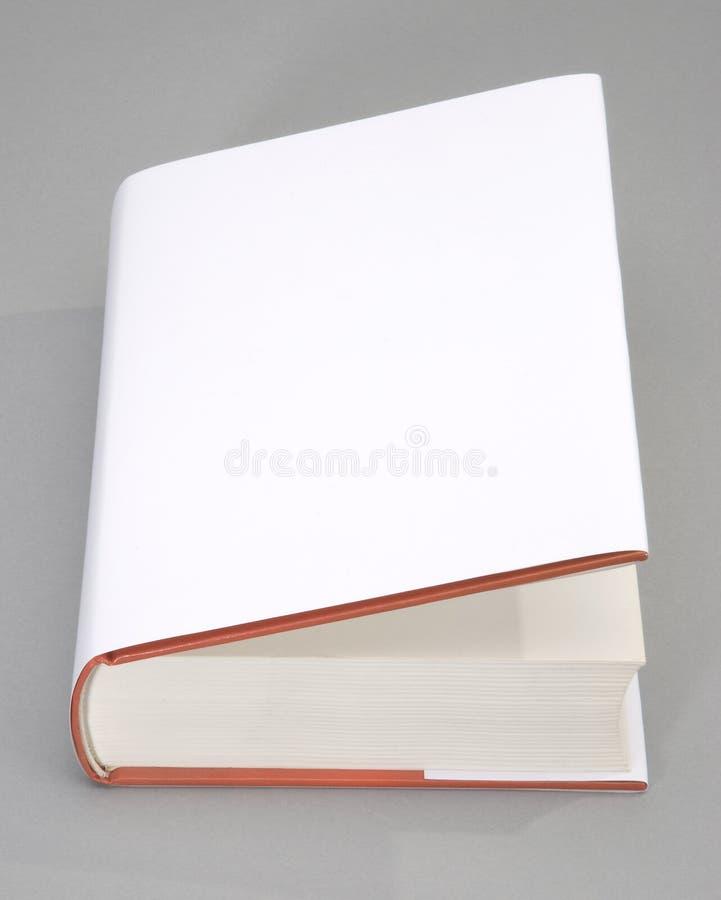 Cache de livre blanc photos stock