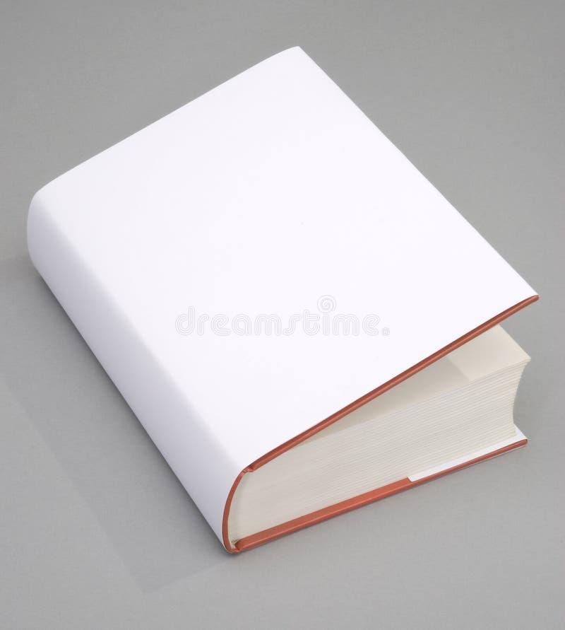 Cache de livre blanc photo libre de droits