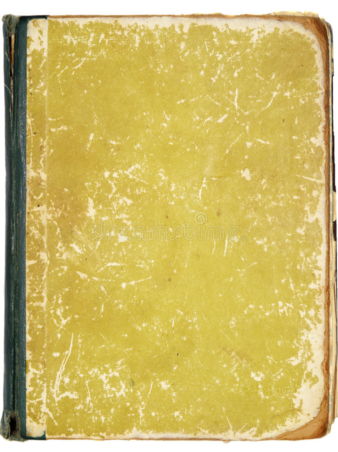 cache de livre blanc vieux s image libre de droits