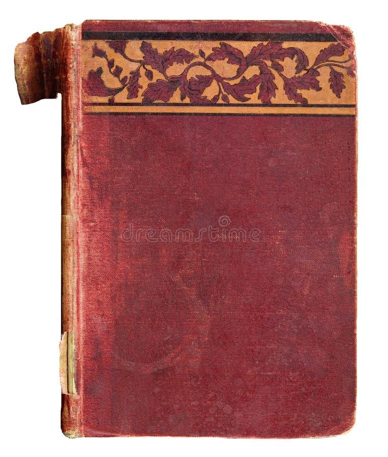 Cache de livre de cru avec la garniture décorative photographie stock libre de droits