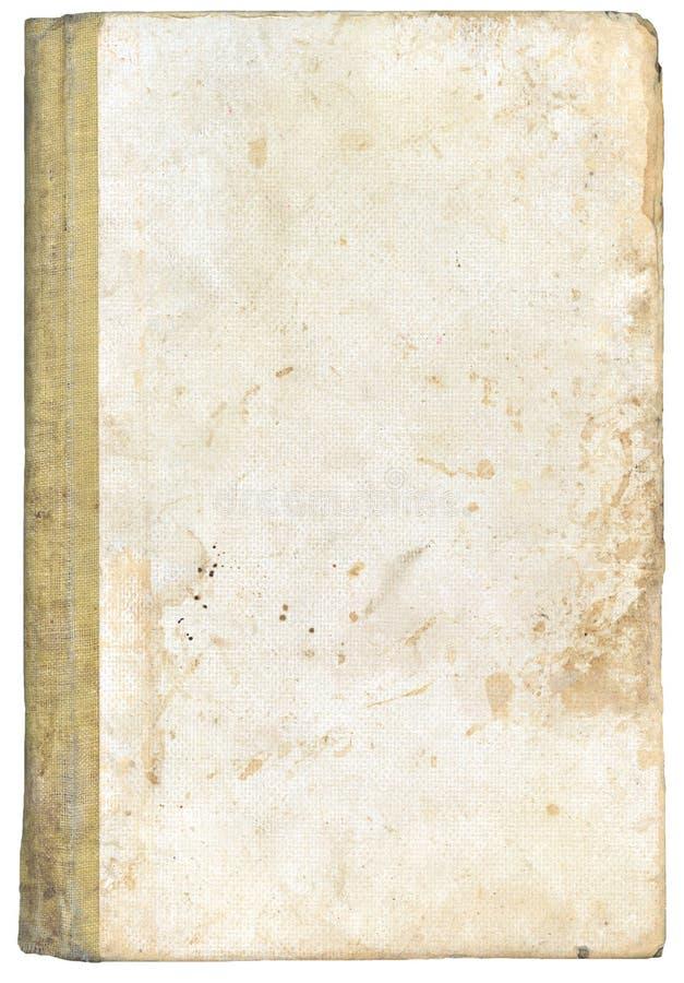 Cache de livre de cru dans le blanc images libres de droits