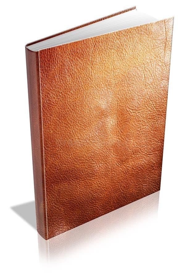 Cache de livre de Leatherbound illustration libre de droits