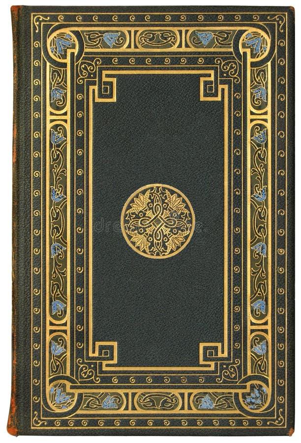 Cache de livre français de cru 1901, édition 7/100 images libres de droits
