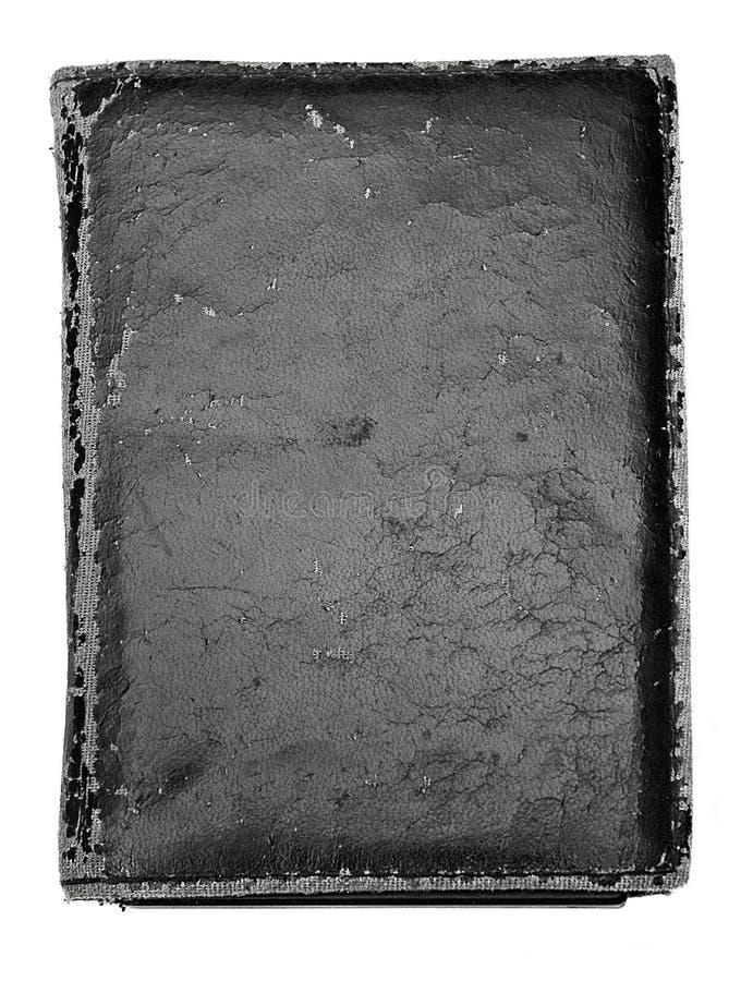 Cache de livre noir de cru photos stock