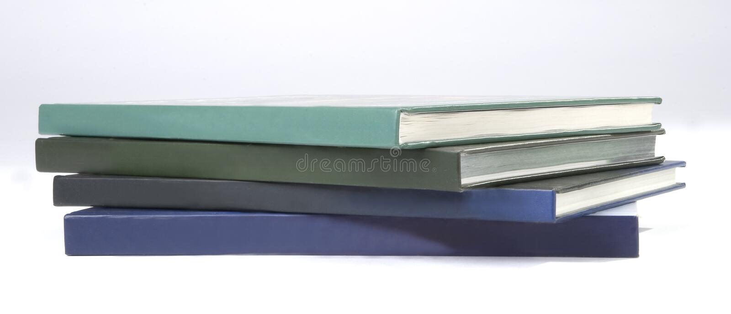Cache de livre quatre en blanc photos libres de droits