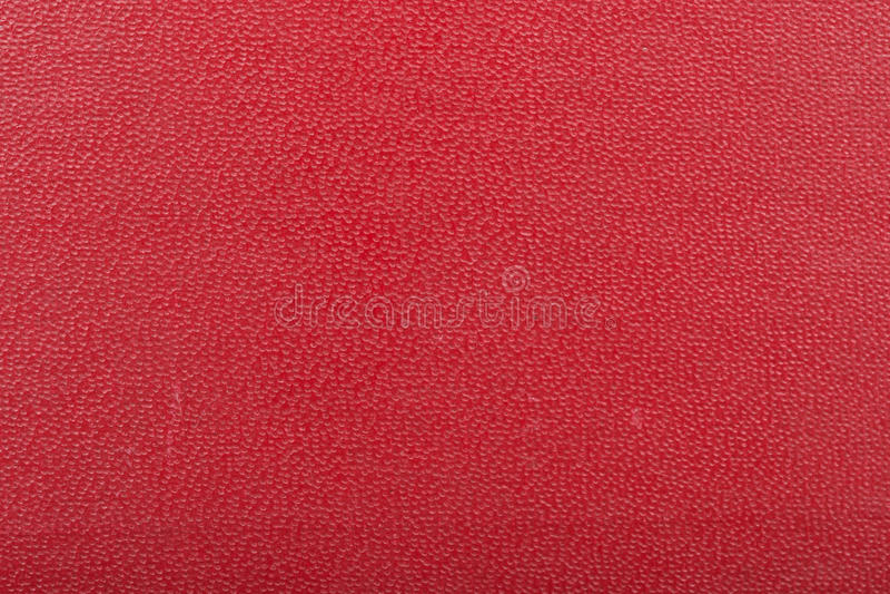 Cache de livre rouge photo stock