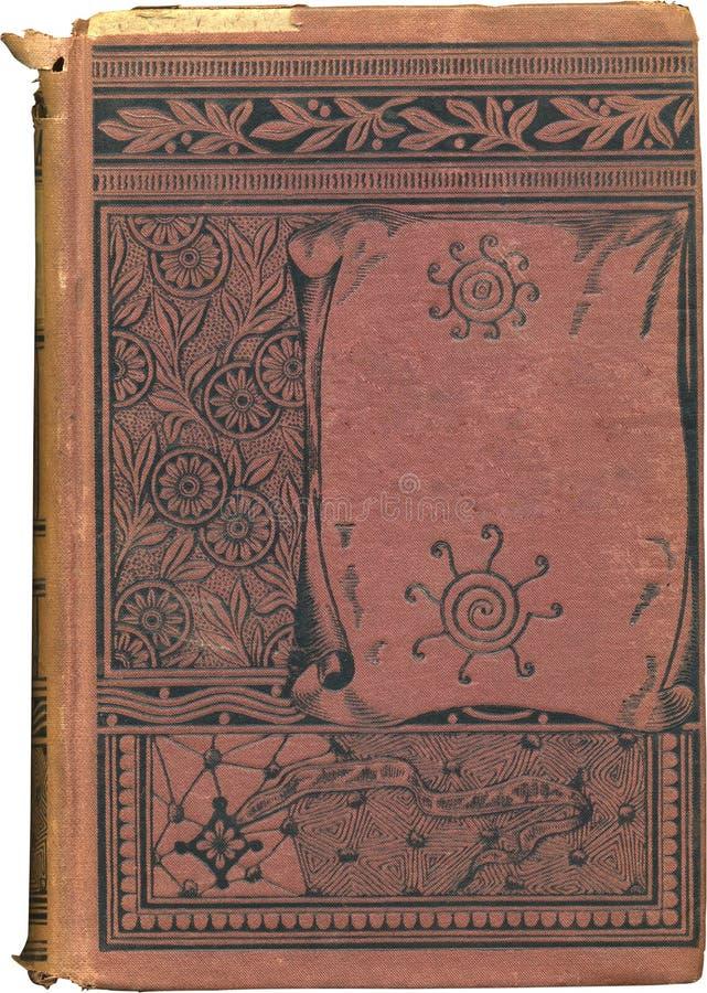 Cache de livre rouge antique photos libres de droits