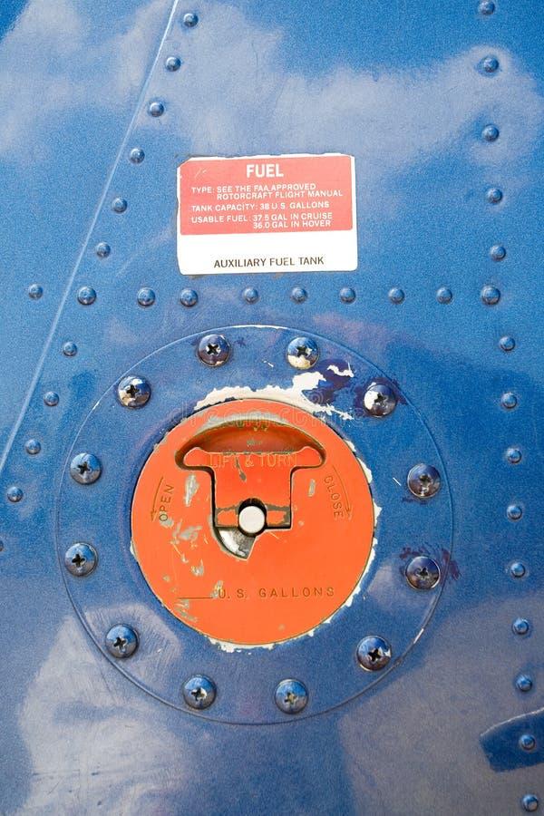 Cache de réservoir de carburant photographie stock