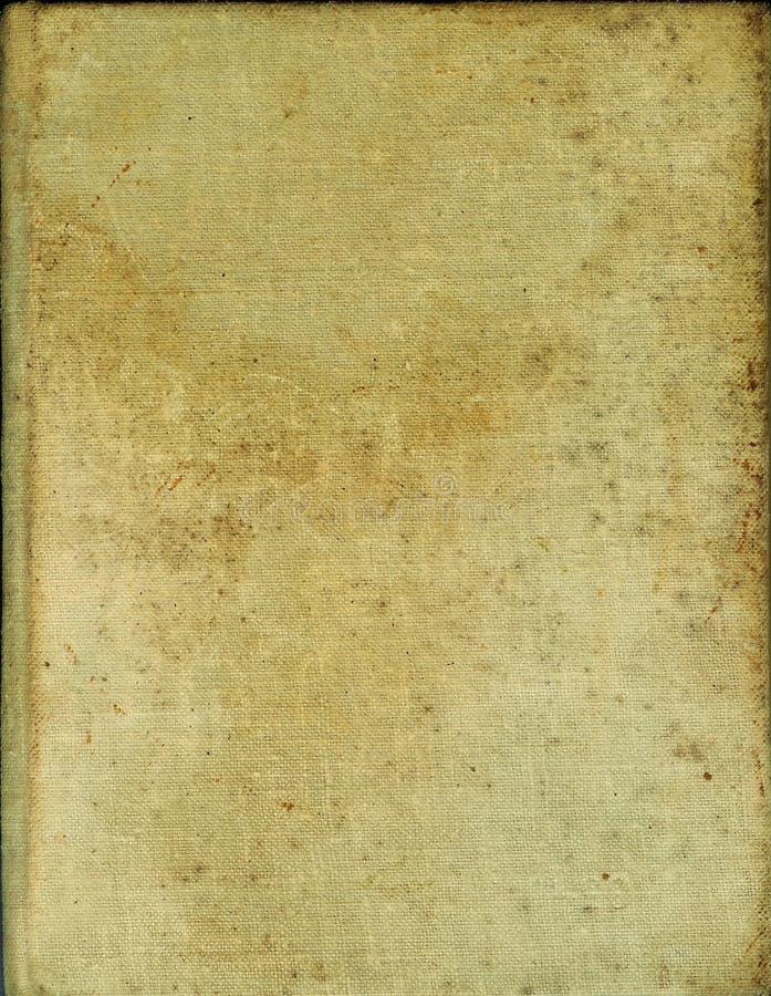 Cache de vieux livre jauni photographie stock