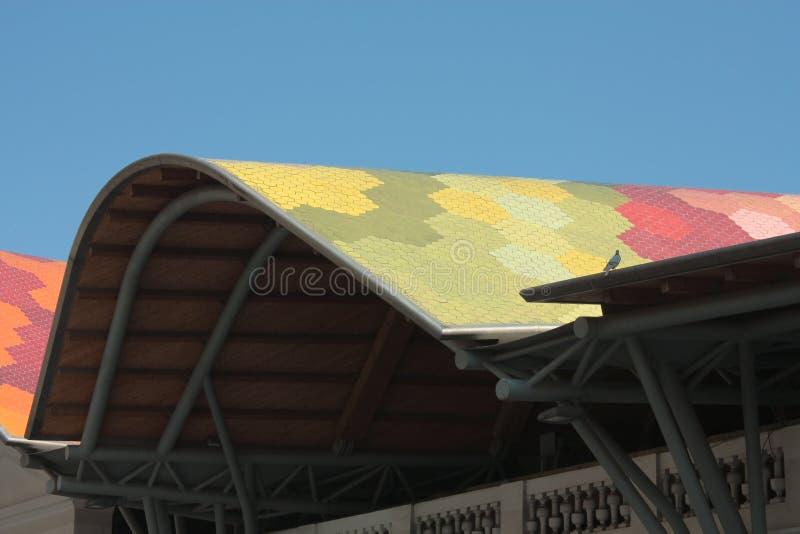 Cache du marché de Santa Caterina images libres de droits