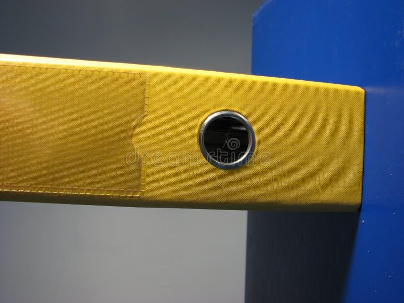 Cache jaune image libre de droits
