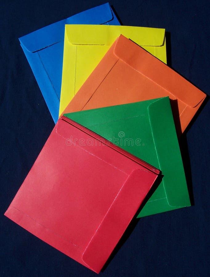 Caches De Papier De CD Photos stock